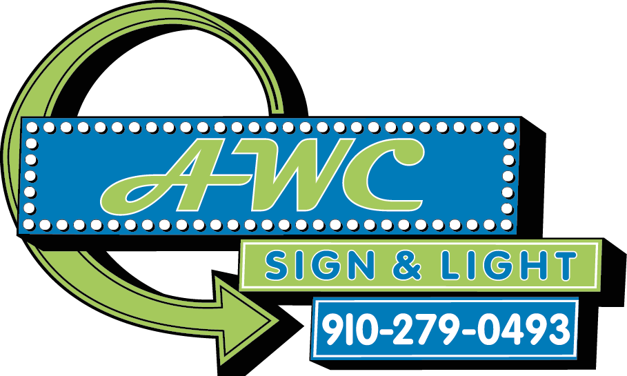 AWC Sign and Light